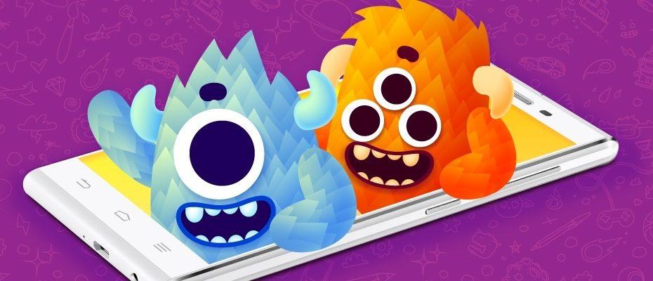 Yeni Kidmons uygulaması Android cihazlarında